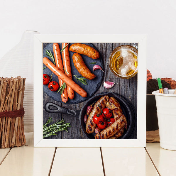 Yummy Food - Full Round Diamond Painting