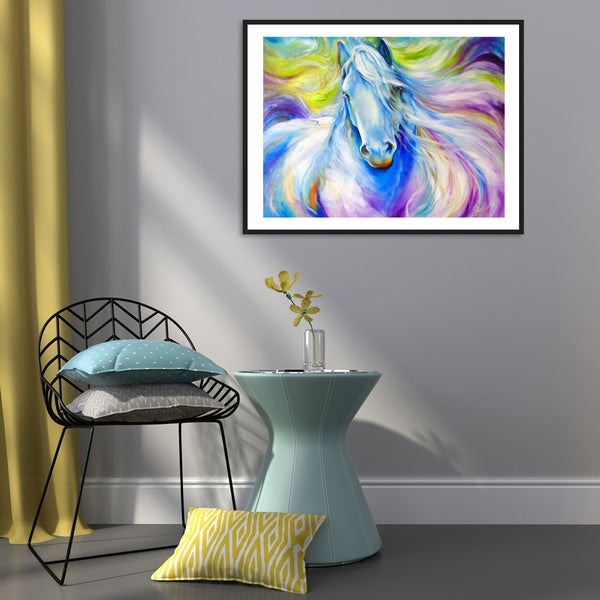 Horse  - Full Round Diamond Painting