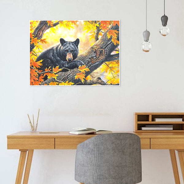 Bear - Full Round Diamond Painting