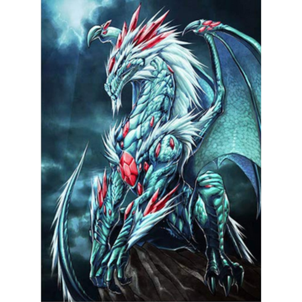Novelty Dragon - Full Round Diamond Painting