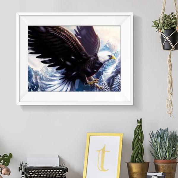 Eagle  - Full Round Diamond Painting