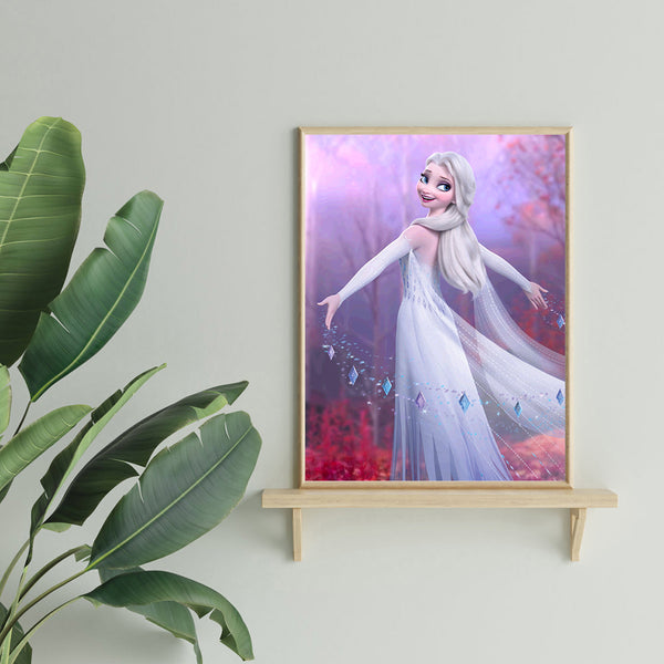 Elsa Princess - Full Round Diamond Painting