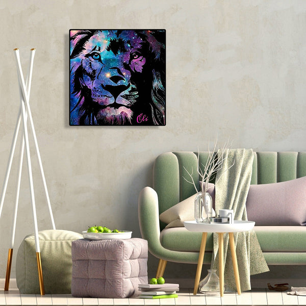 Lion - Full Round Diamond Painting