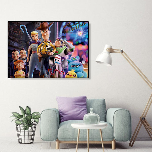 Toy Story - Full Round Diamond Painting