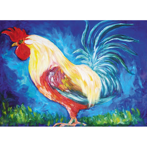Color Rooster - Full Round Diamond Painting