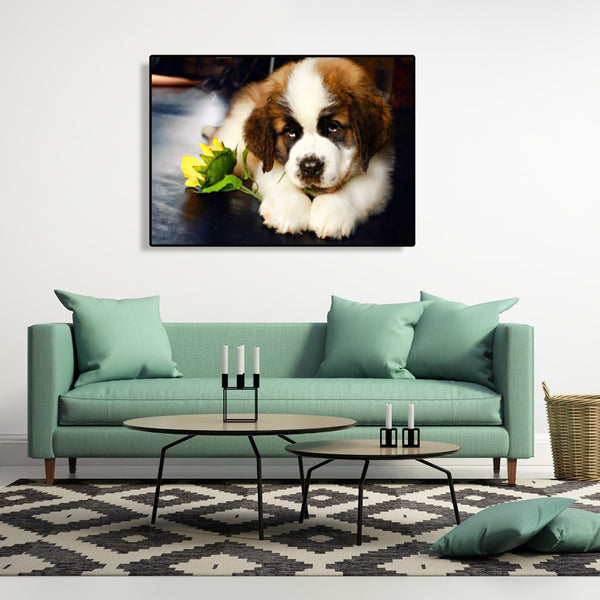 Dog - Full Round Diamond Painting