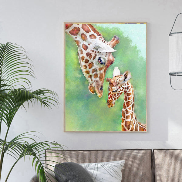 Giraffe - Full Round Diamond Painting