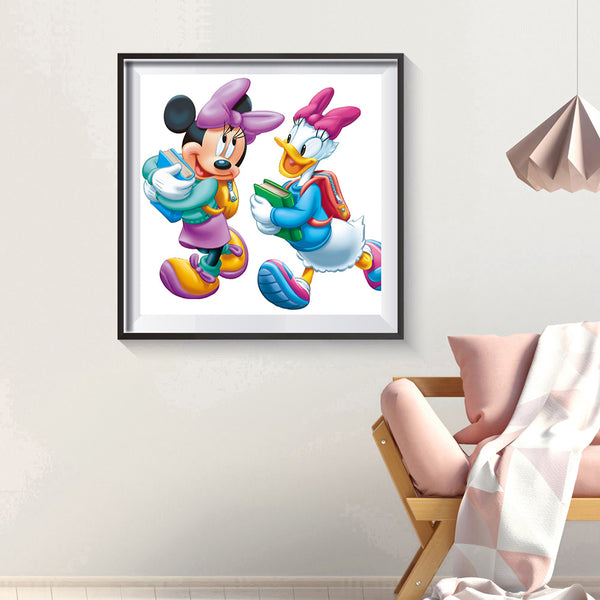 Minnie Mouse - Full Round Diamond Painting