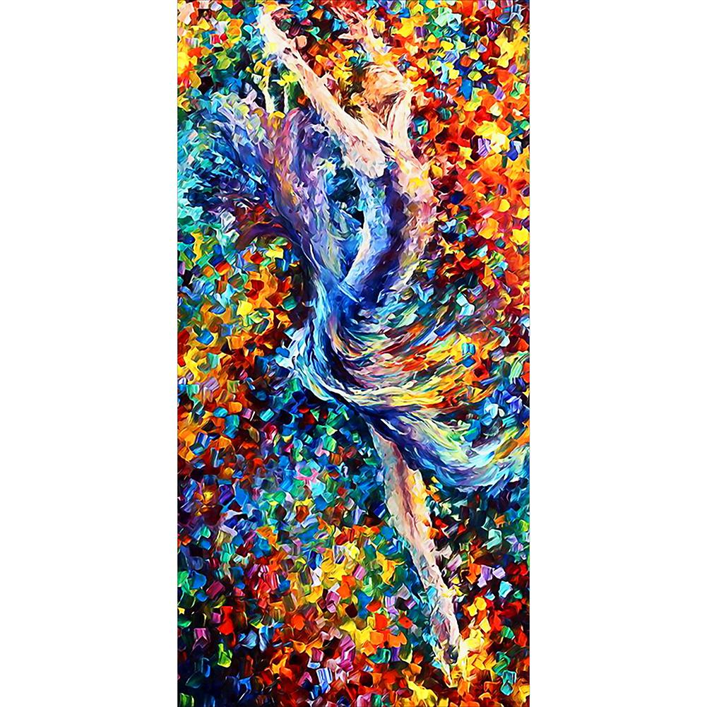 Dancer  - Full Round Diamond Painting(85*45cm)