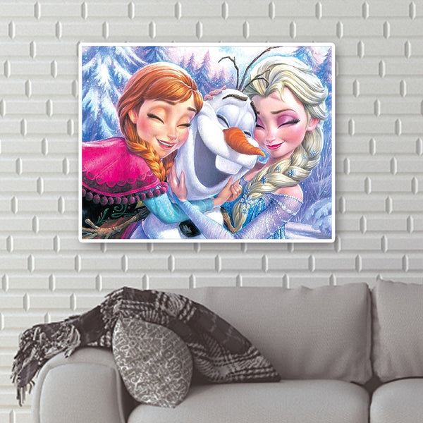 Frozen - Full Round Diamond Painting(40x50cm)
