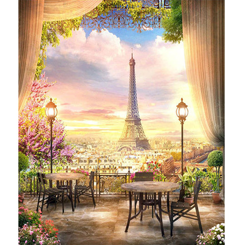 Eiffel Tower - Full Square Diamond Painting