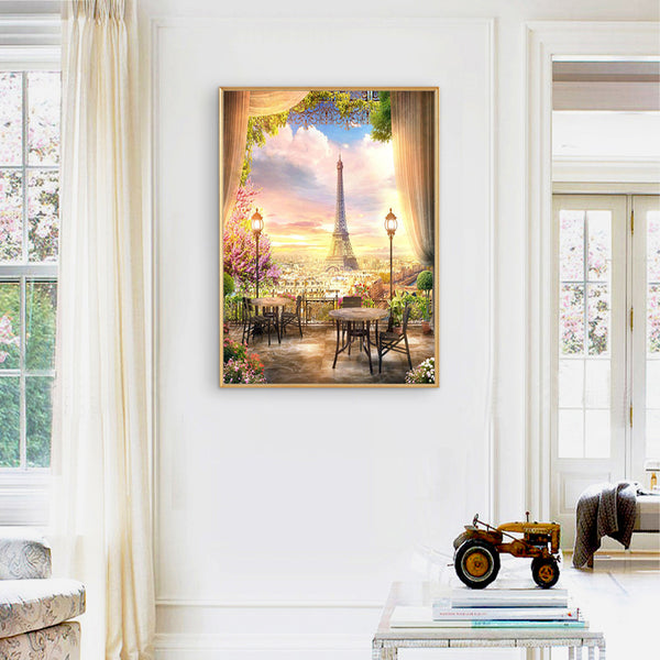Eiffel Tower - Full Square Diamond Painting(40*50cm)