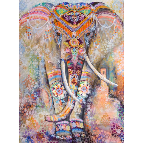 Elephant - Full Square Diamond Painting