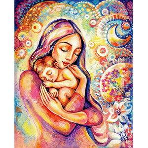Mother - Full Square Diamond Painting(40*50cm)