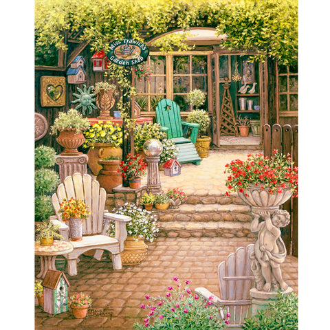 Garden - Full Square Diamond Painting