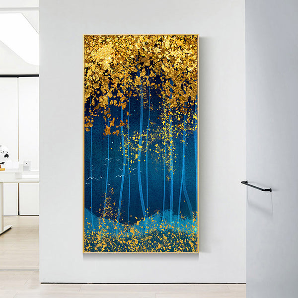 Forest Abstract - Full Round Diamond Painting(85x45cm)