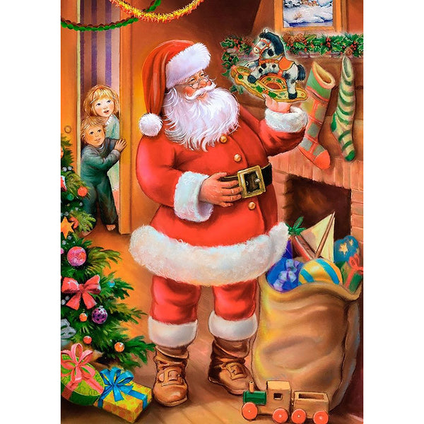 Santa Claus - Full Round Diamond Painting