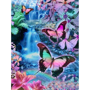 Butterfly - Full Square Diamond Painting(40x50cm)
