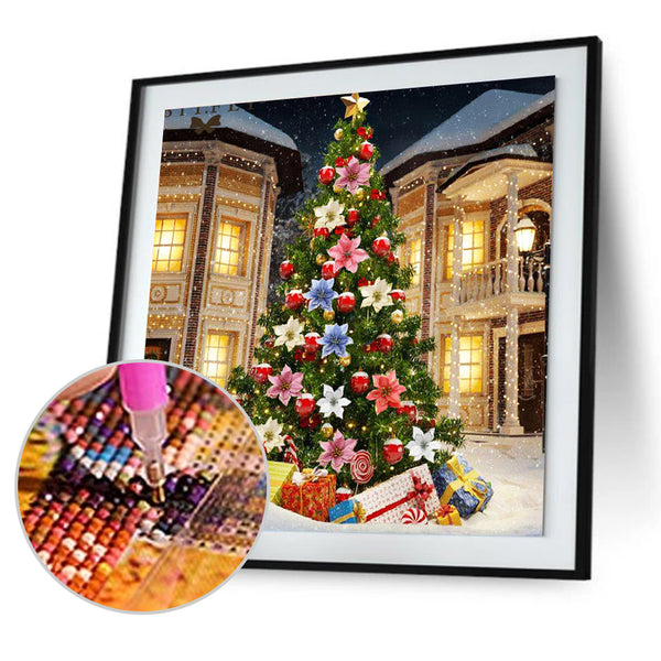 Christmas Tree - Full Round Diamond Painting
