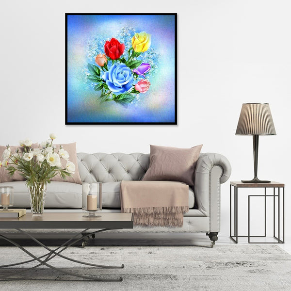 Flower - Full Round Diamond Painting