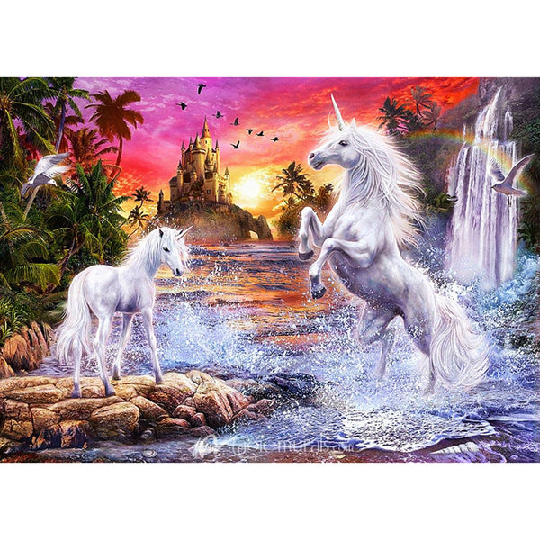 Horse - Full Square Diamond Painting(40*50cm)