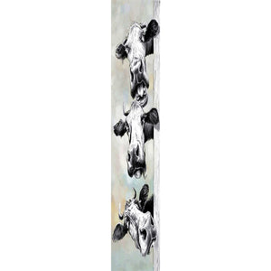 Cattle - Full Round Diamond Painting(115*25cm)