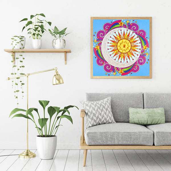 Flower  - Crystal Rhinestone Diamond Painting