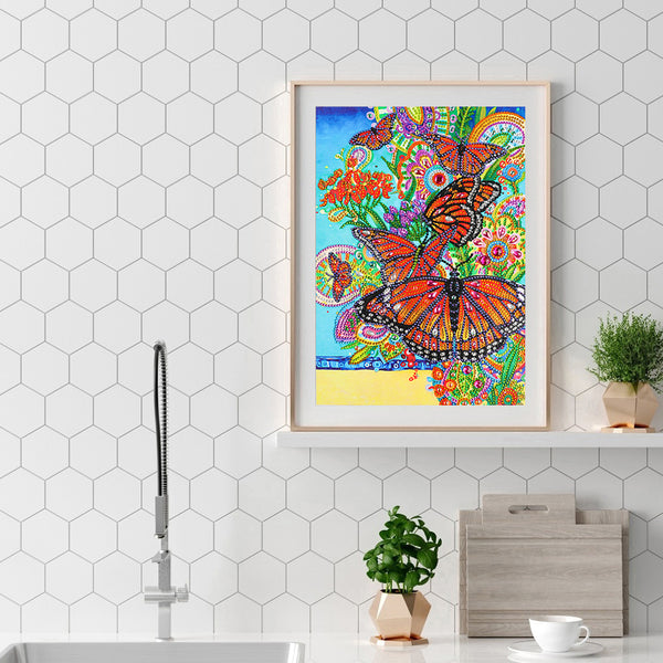 Butterfly  - Crystal Rhinestone Diamond Painting