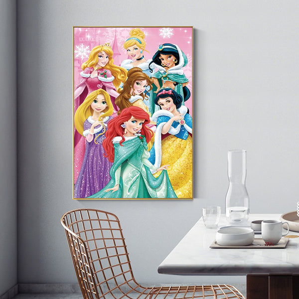 Princess - Full Square Diamond Painting(40x50cm)