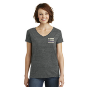 Ladies' NYS Troopers District Made Heathered T-Shirt w/ Flag