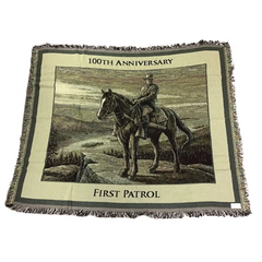 NYSP 100th Anniversary Throw Blanket