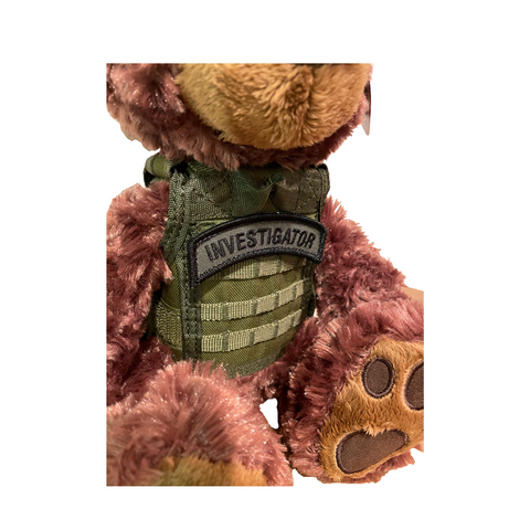 Custom NYS Trooper Tactical Bear