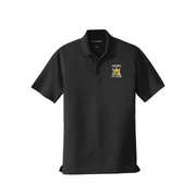 Men's Black Polo w/ NYS Seal