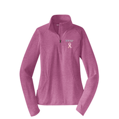 Ladies' NYSP Breast Cancer Awareness 1/4 Zip
