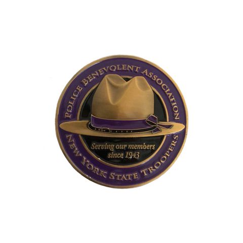 NYS Troopers PBA Coin