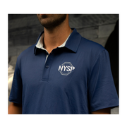 Men's NYSP Navy Performance Polo