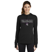 Ladies' Heather Grey NYS Troopers Hoodie