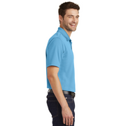 Men's Light Blue Polo w/ NYS Seal