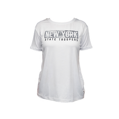 Ladies' Lightweight White Performance T-Shirt