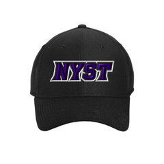 NYST Solid Fitted Stretch Cap
