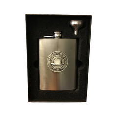 NYS Troopers Stainless Steel Flask w/ Pewter