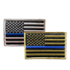 NYS Troopers Blue Line Flag Patch