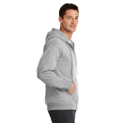 Men's Full Zip Hoodie w/ State Seal
