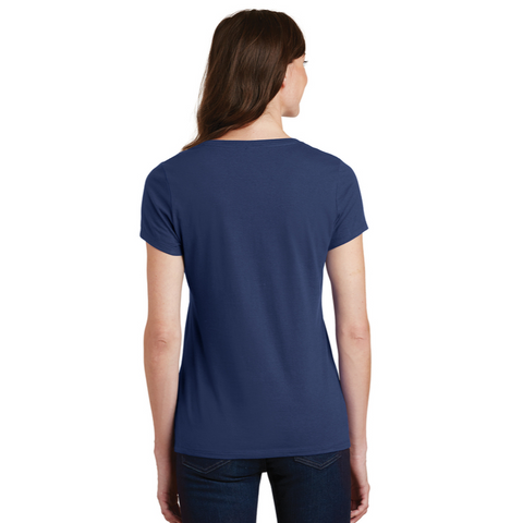 Ladies' NYS Troopers Cotton V-Neck T-Shirt