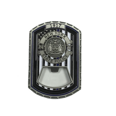 NYS Troopers Silver Challenge Coin w/ Bottle Opener