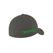 Shamrock Solid Fitted Stretch Cap