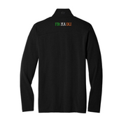 Men's Black Ogio Shamrock Quarter Zip