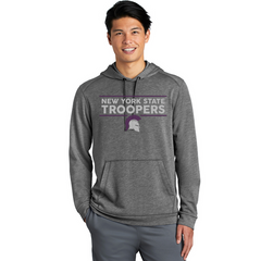 Men's Heather Grey NYS Troopers Hoodie