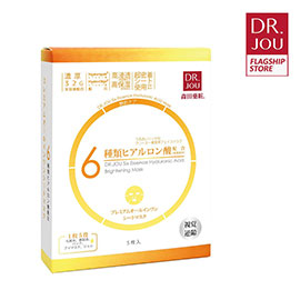 Dr.Jou Six Essence Hyaluronic Acid Brightening Mask 5 Pieces
