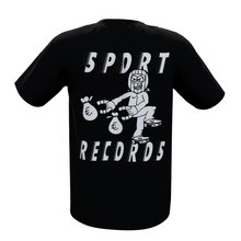 Load image into Gallery viewer, Sportrecords x VSOP Magnet T-Shirt (Black)